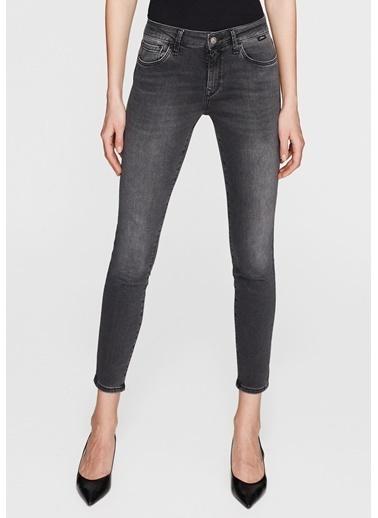 Mavi Jean Pantolon | Adriana Ankle - Super Skinny Gri